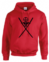 DP SWORDS HOODIE - INSPIRED BY DEADPOOL